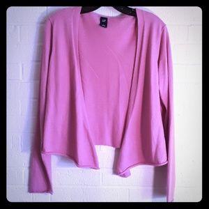 Gap Pink Cardigan size large